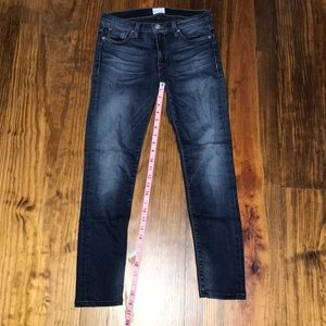 Hudson jeans, nico mid rise super skinny, size 27